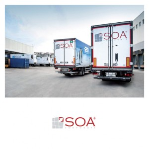 Camion SOA su piazzale - Business Inelligence