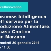 Webinar Business Intelligence Self-service per la Produzione Alimentare- Il caso di Cantine san Marzano