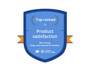 Qlik Top ranked per BARC 2021
